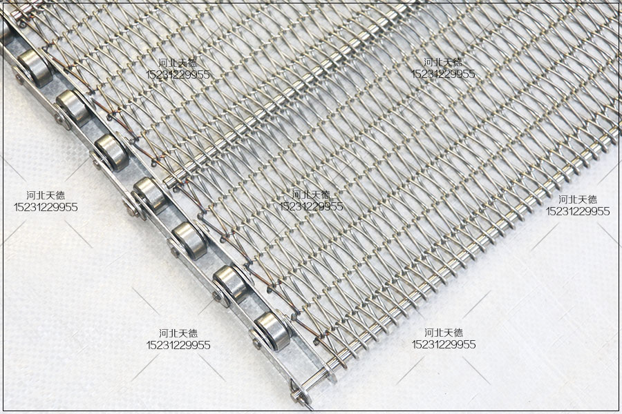 不锈钢输送带 编织方法 使用行业