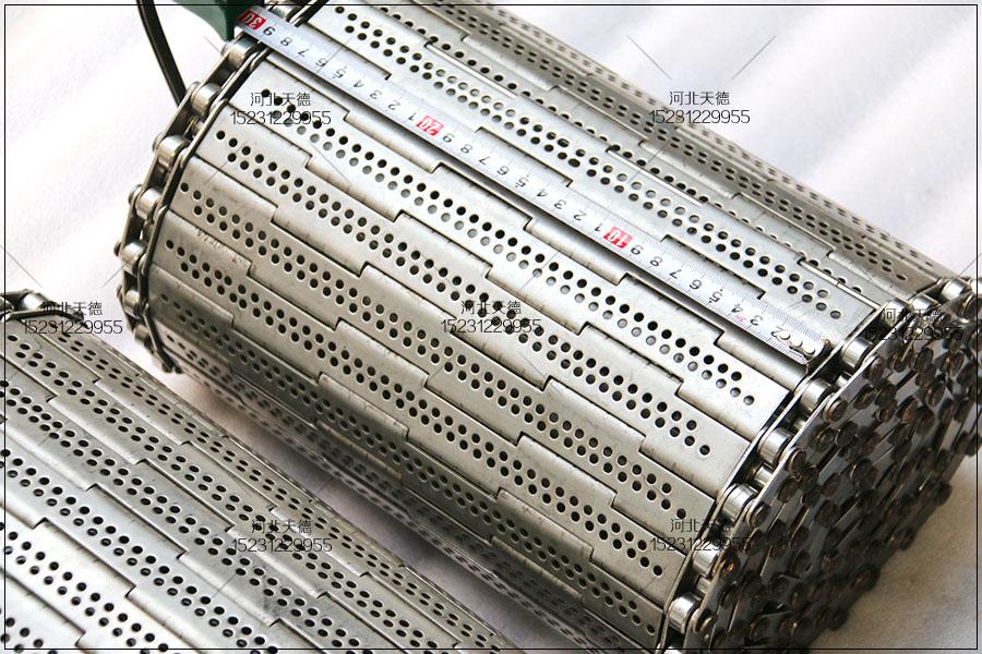豆干烘烤链条式不锈钢网带的使用