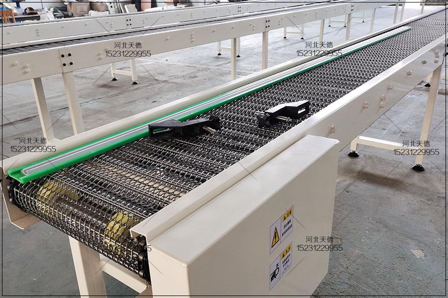 金属输送机、网带输送机参数、能力、速度