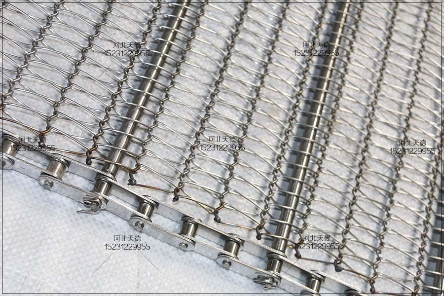 板栗输送线不锈钢输送带质量的选择