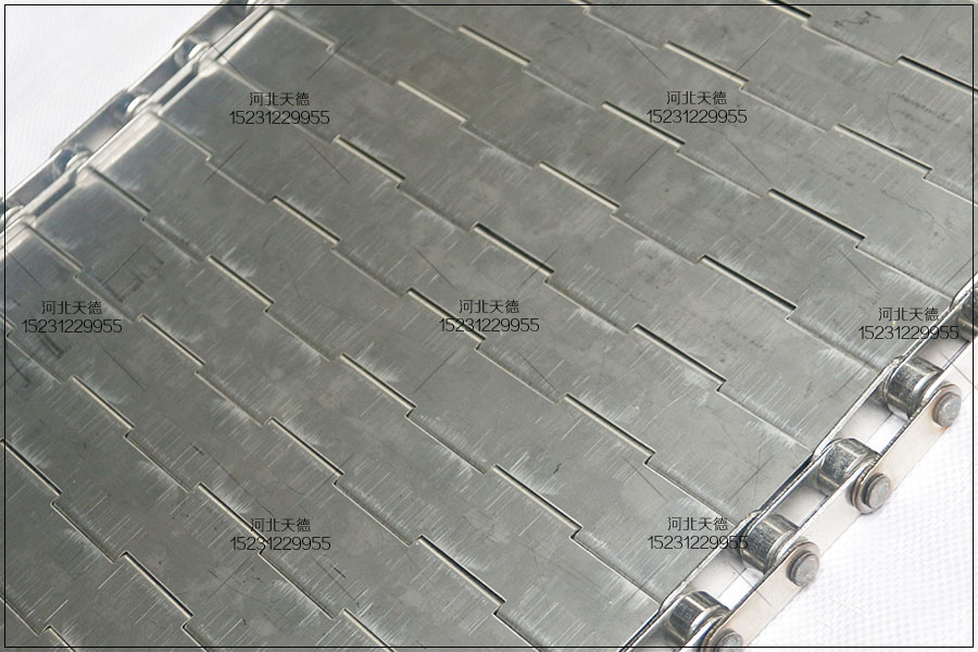 金属链板输送线不锈钢食品输送带加工过程