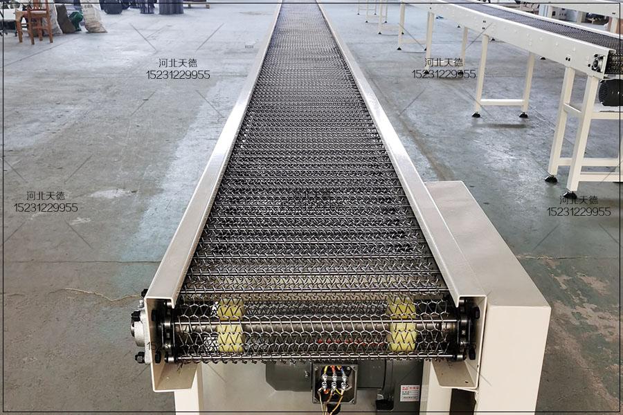 喷涂流水线网带输送机的应用