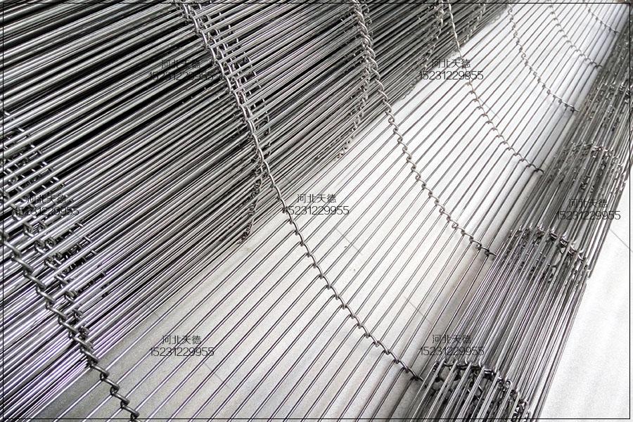 多层烘干冷却线不锈钢食品输送带对环境的要求
