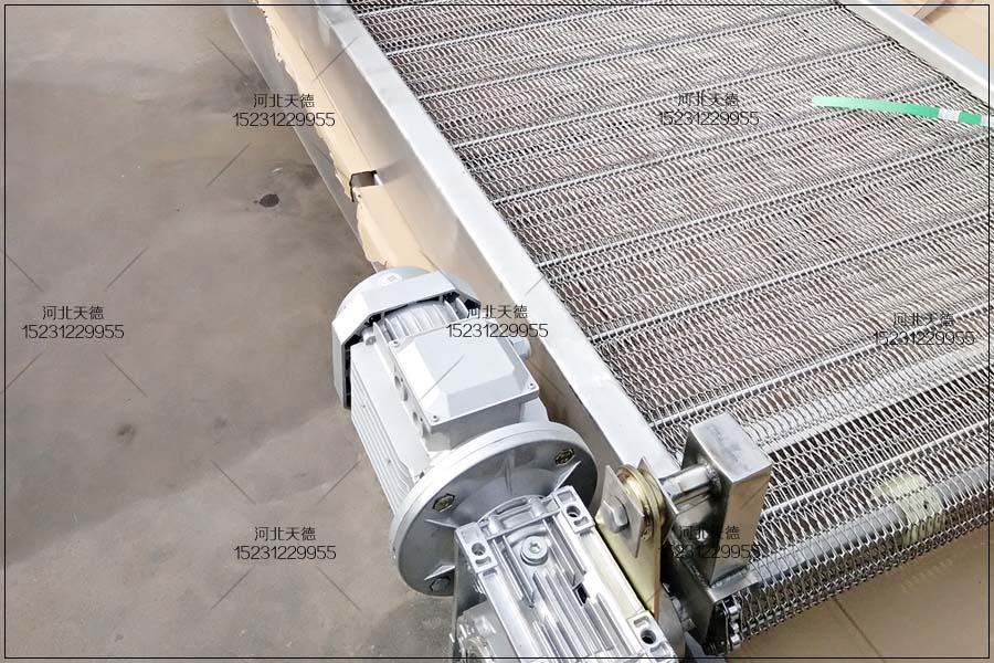 海鲜冷冻不锈钢网带 链条网带用于海鲜冷冻