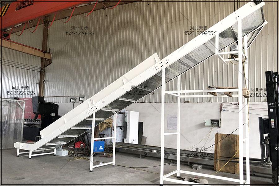 奶糖输送线链板输送机、不锈钢板输送机设计