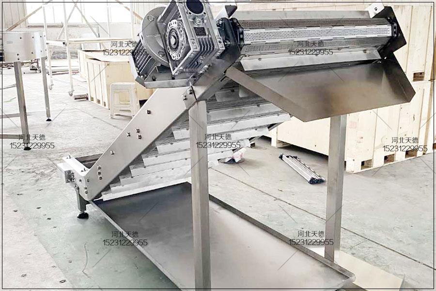 高粱输送大滚珠链条式链板输送机