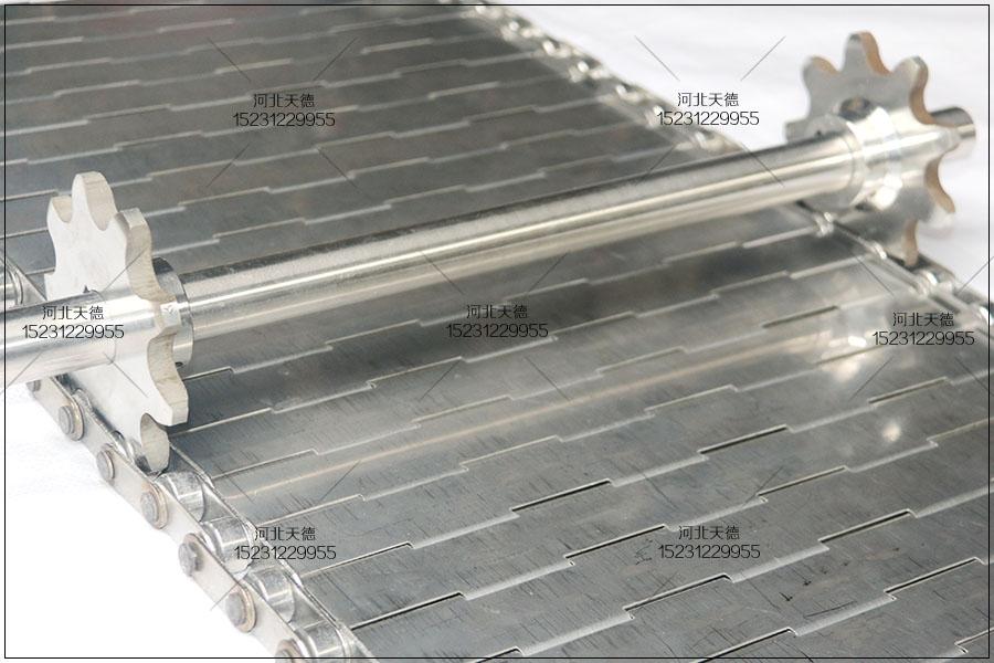 锻造件输送线链板不锈钢输送带