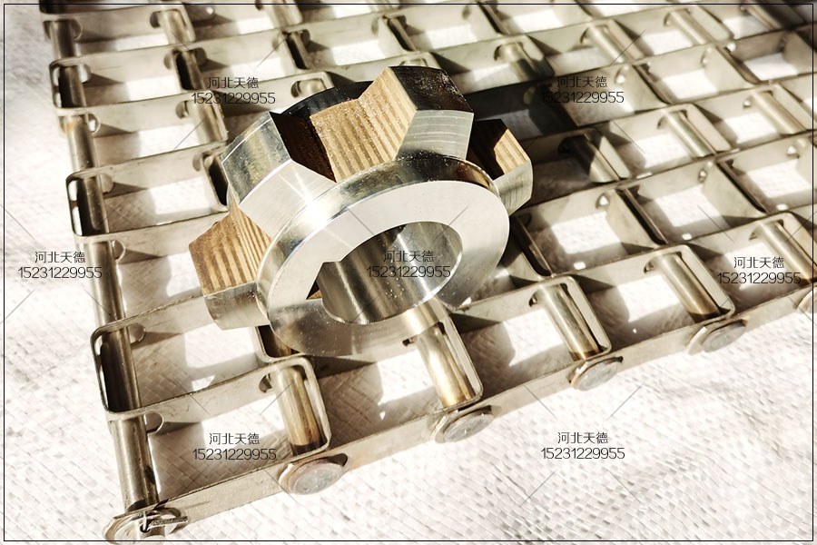 高温环境下使用不锈钢耐高温输送带