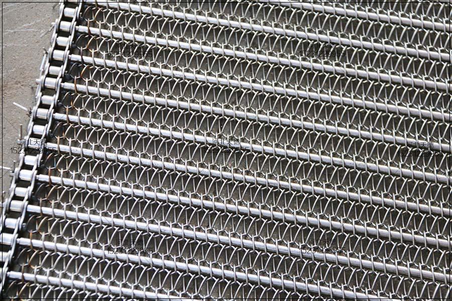 高温网带、链杆网带、链条网带安装说明