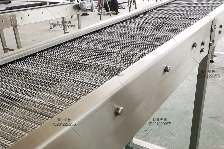 理料输送机网带,螺旋网带输送机周停转原因